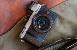 Panasonic Lumix GX9 with satchel