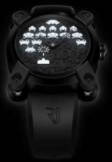 Romain Jerome Space Invaders watch - Night colour