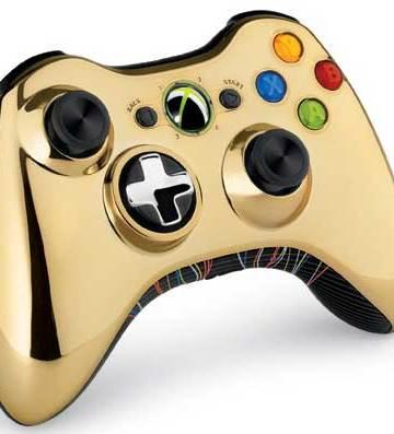 Xbox 360 Star Wars C-3PO controller
