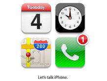 New Apple iPhone media event invitation graphic