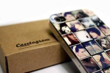 Casetagram iPhone case, made from your Instagram photos