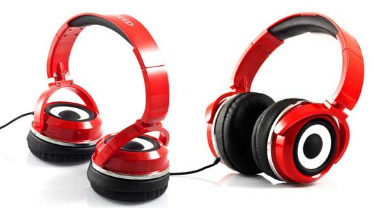 Zumreed X2 headphone red
