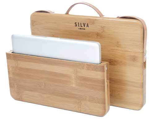 Grasswood MacBook Pro case, made of bamboo