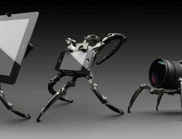 Life-Phorm iPad, phone and camera holder