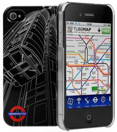 Cygnett Tube-Train iPhone 4S case