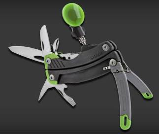 Gerber Steady Tool, with 12 tools, including camera tripod