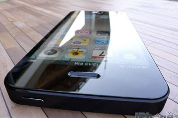iPhone 5 leak? June 2012, front, screen on