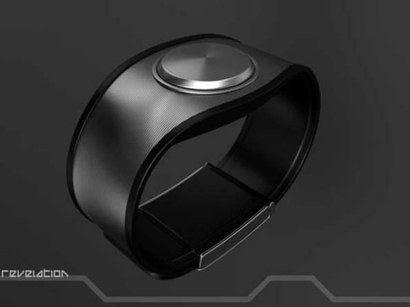 Sam Jerichow Revelation Watch design for Tokyoflash, black closed