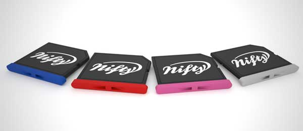 Nifty MiniDrive colour range