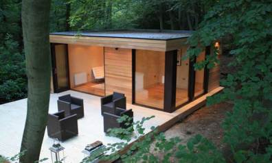in.it studios garden office / studio, backyard office, balcony