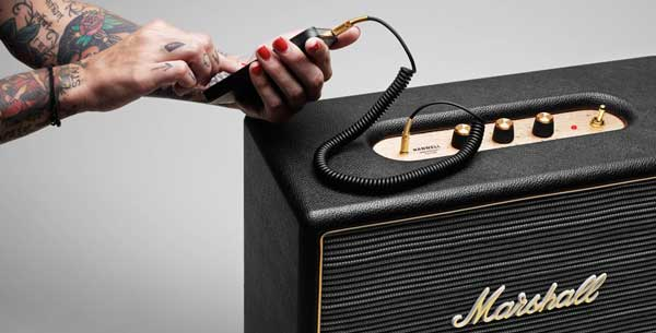 Marshall Hanwell speaker for portable music players