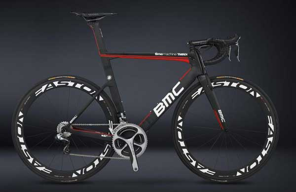 BMC TMR01 timemachine, the time trial bicycle ridden by Cadel Evans in the 2013 Tour de France