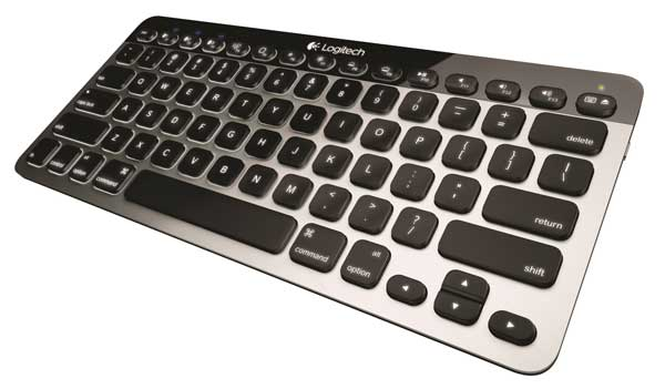 Logitech K811 Bluetooth Illuminated Keyboard