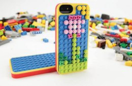 Lego Belkin iPhone case, with bricks