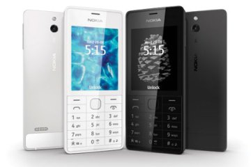 Nokia 515 in black and white