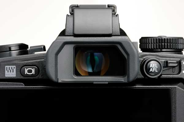 Olympus OM-D E-M1 electronic viewfinder
