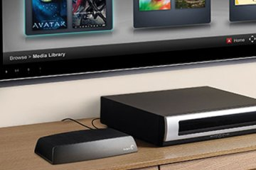 Seagate Central with TV