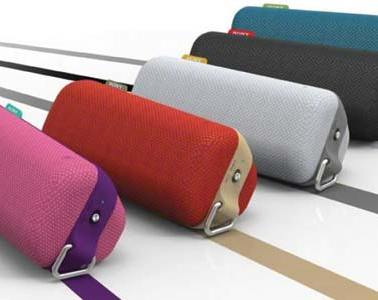 Sony ToGo speaker portable, splashproof - colour range