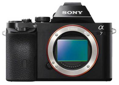 Sony Alpha 7 camera sensor