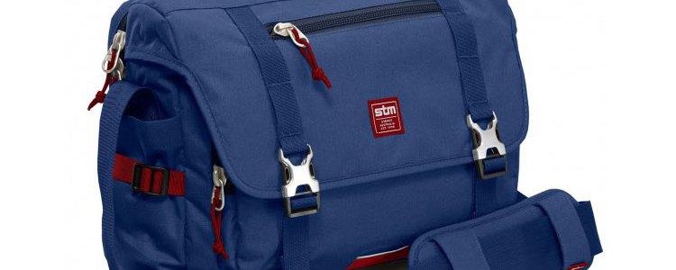 STM Trust computer bag navy