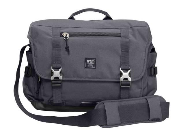 STM Trust graphite messenger bag