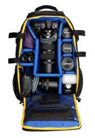 Olympus CBG-12 Camera Bag, inside compartments