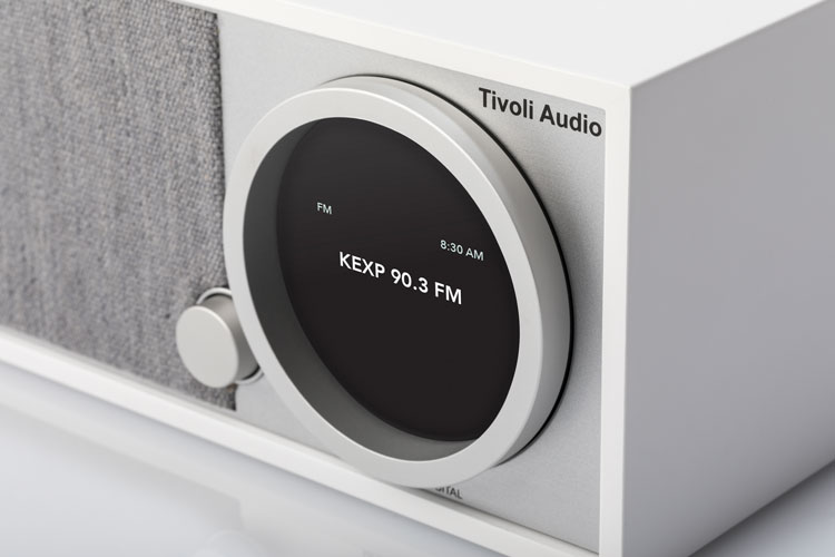 Tivoli Model One Digital music centre white closeup