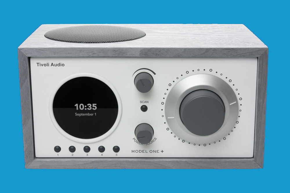 Tivoli Audio Model One+ Grey White