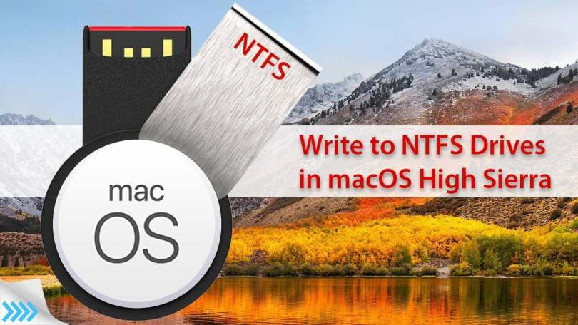 How to Write to NTFS Drive in macOS High Sierra