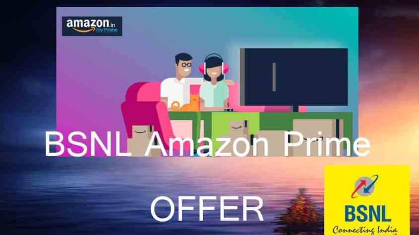 bsnl amazon prime offer