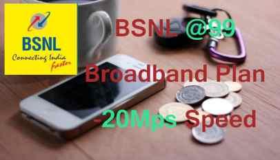 BSNL Broadband 99 Plan