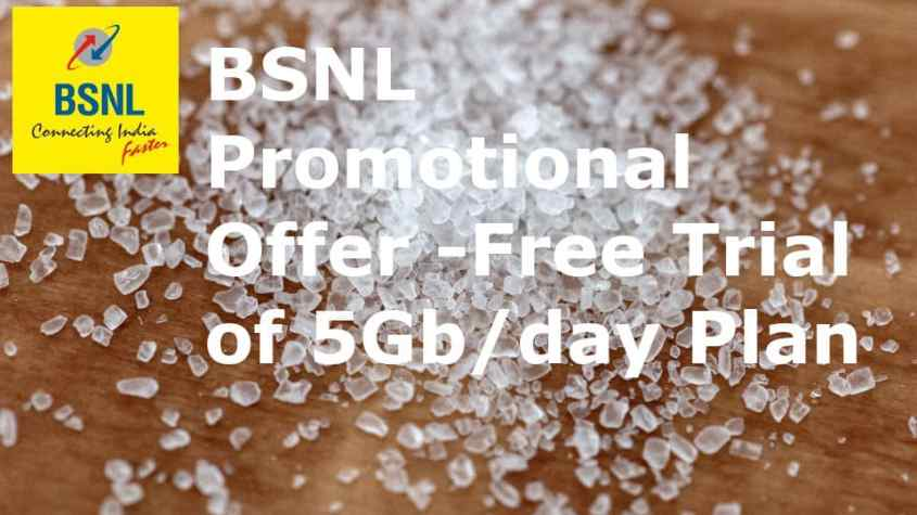 BSNL 5Gb Per Day Promotional Offer