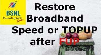 BSNL Installation Charges on Landline Broadband FTTH