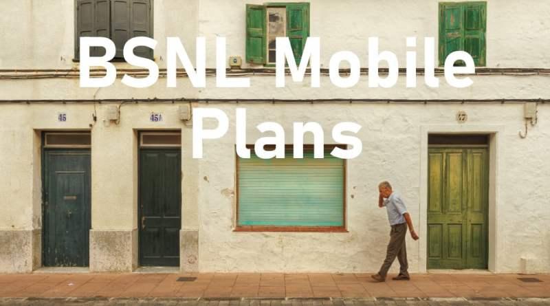 BSNL Mobile Plans