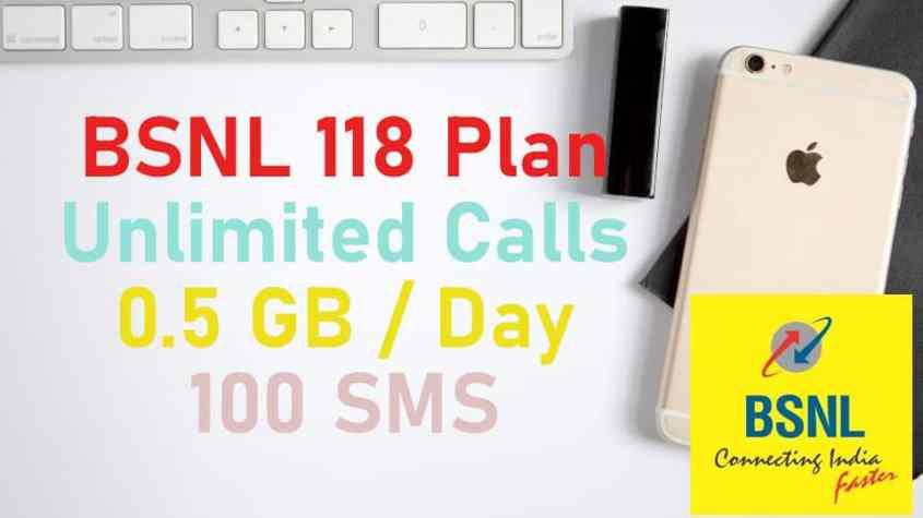 BSNL 118 Mobile Plan