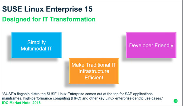 SUSE Linux Enterprise 15 - IT Transformation