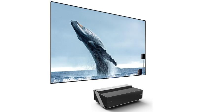 Hisense 120-Inch 4K Ultra HD Smart Dual Color Laser TV (120L10E