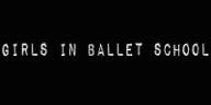 Girls in Ballet school logo