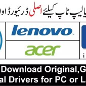 Download Original,Genuine,Official Drivers for PC or Laptop