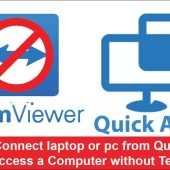 How to Connect laptop or pc from Quick Assist