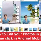How to edit your photos in just one click in android mobile