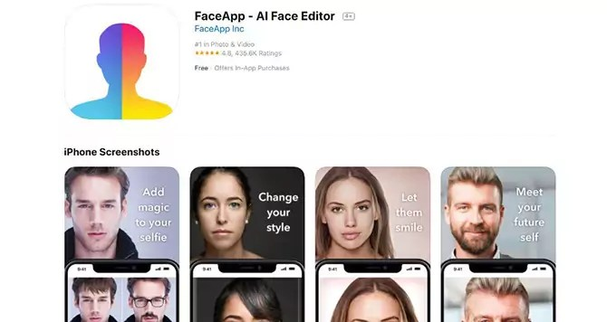 FaceApp: Russian Face-Aging App is Danger To Your Privacy?