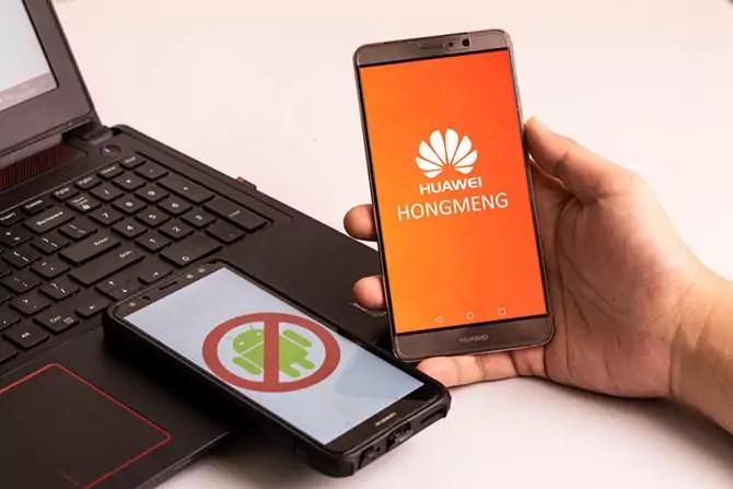 "Huawei is launching its own operating system ""Hongmeng"""