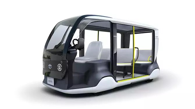 Toyota will introduce electric shuttles for 2020 Olympic Games in Tokyo