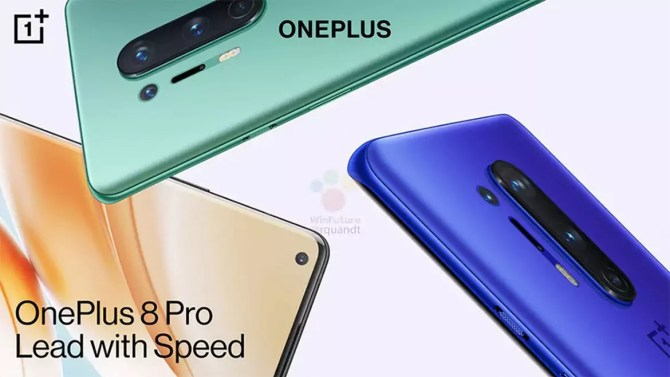 OnePlus 8 & 8 Pro Design & Display