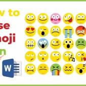 How to Use Emojis in Word & Adobe Illustrator in Windows 10