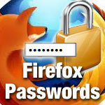 securing passwords in firefox