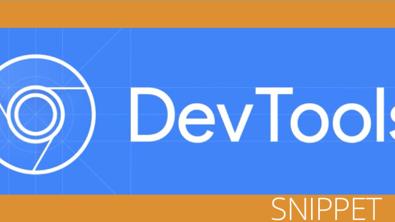 devtool main screen