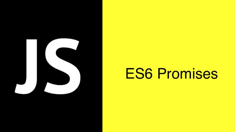 ES6 Promises main screen
