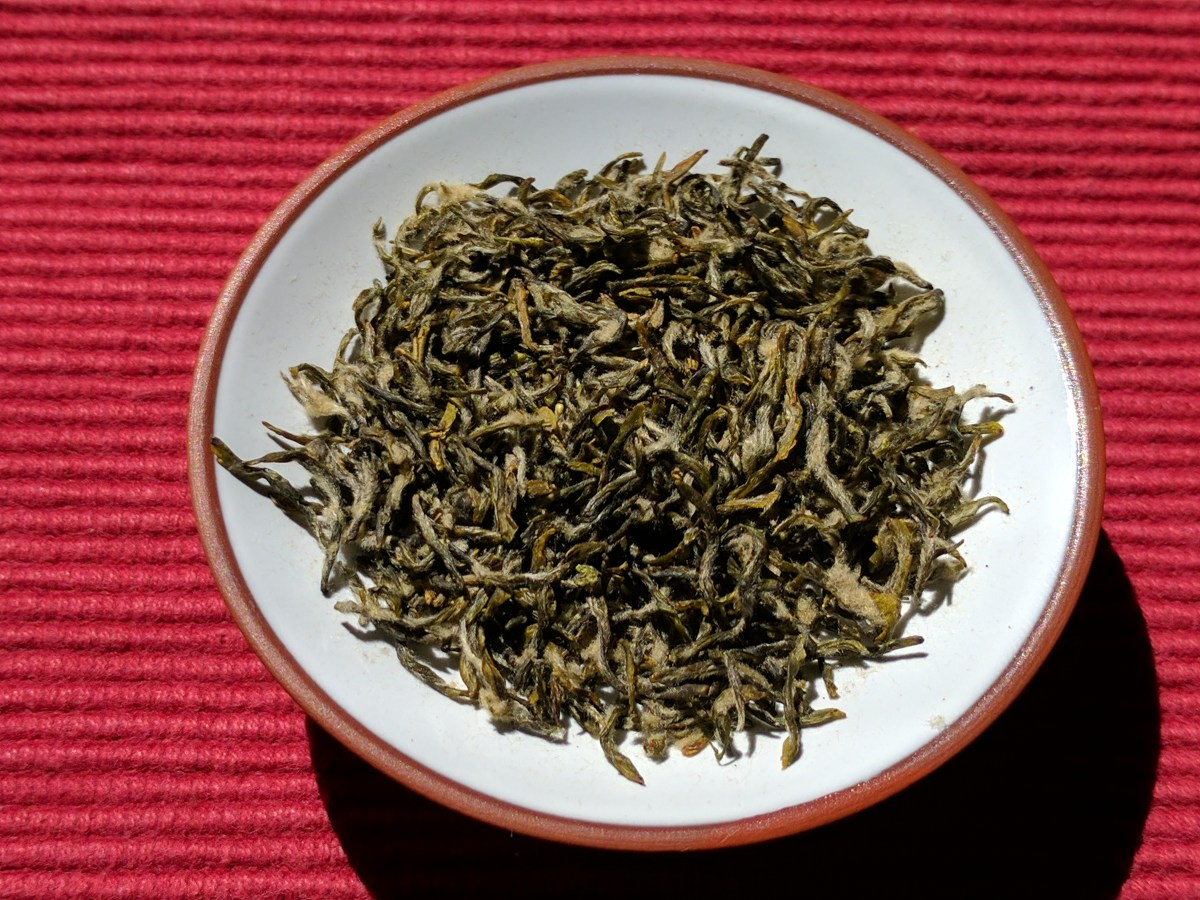 Bi Luo Chun green tea from SevenCups.com